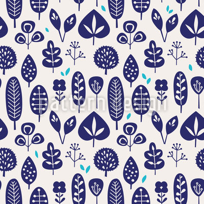 Leaf Selection Seamless Pattern