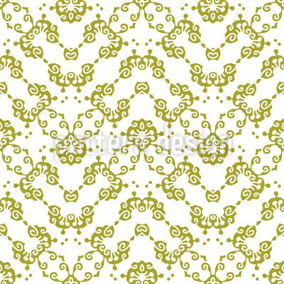 Sag Es Mit Schnörkel Muster Design