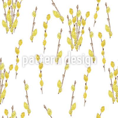 Palmkätzchen Muster Design
