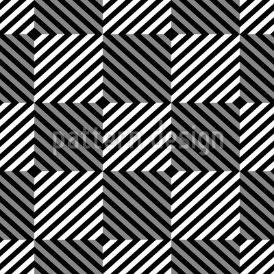 Psychedelic Chess Seamless Vector Pattern