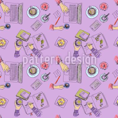 Kreative Hände Muster Design