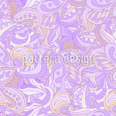 Paisley Visions Repeat Pattern