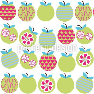 Reife Äpfel Rapport