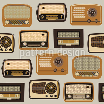 Airwaves Repeating Pattern
