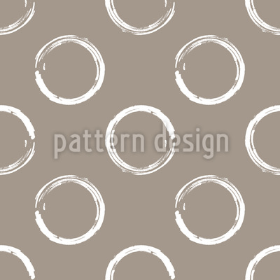 Gemalte Kreise Vektor Ornament