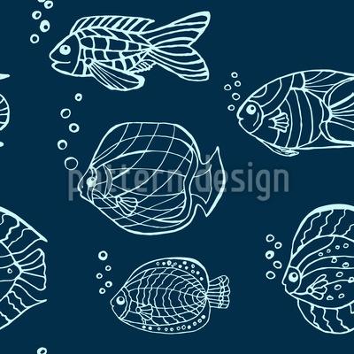 Klare Fische Rapportmuster