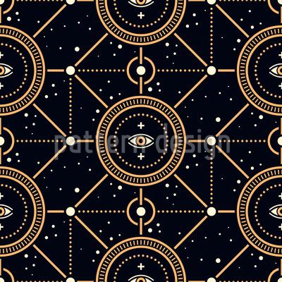 Die Allwissenden Augen Muster Design