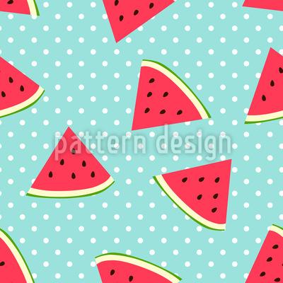 Süße Wassermelone Designmuster