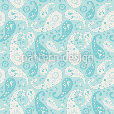 Floating Paisley Repeating Pattern