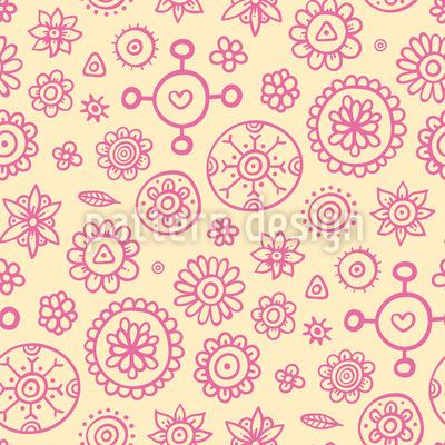 Einige Blumen Muster Design