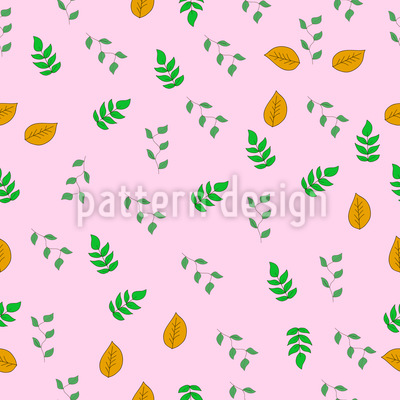 Some Kinds Of Leaves Pattern Design