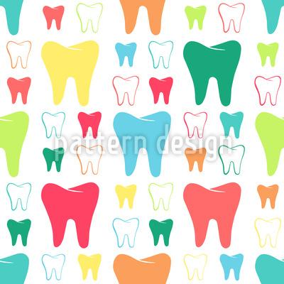 Shiny Teeth Pattern Design