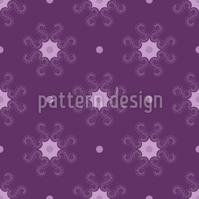 About Stars And Dots Seamless Pattern