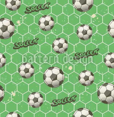 Fussballfan Rapportmuster