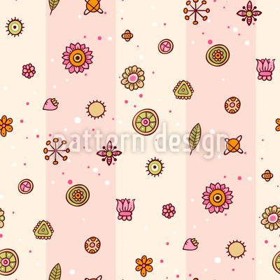 Pick Your Flower Vector Pattern