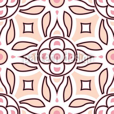 Soft Retro Pattern Design