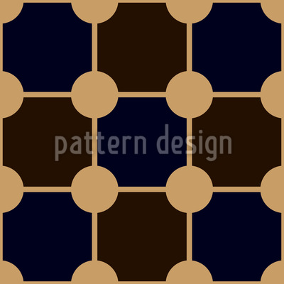 Gridmesh of Dots Repeat Pattern