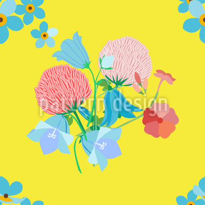 Summer Meadow Pattern Design