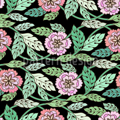 Spring Twists Vector Pattern