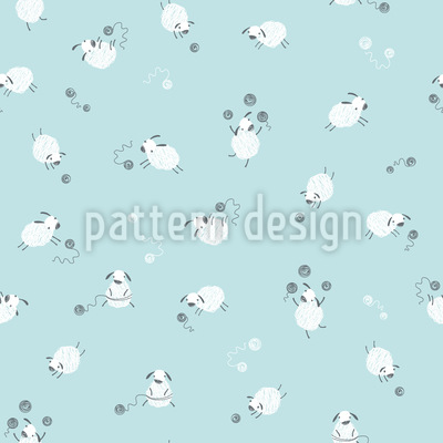 Funny Sheep Pattern Design