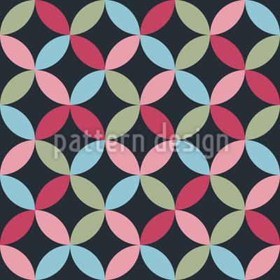 Blütenblatt Verbindung Vektor Design