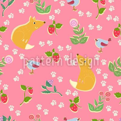 Füchse Lieben Erdbeeren Rapport