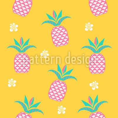 Ananas am Morgen Muster Design