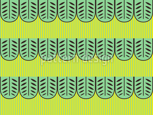 Exotic Leaves Pattern Design