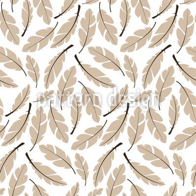 Weiche Kissen Federn Vektor Muster