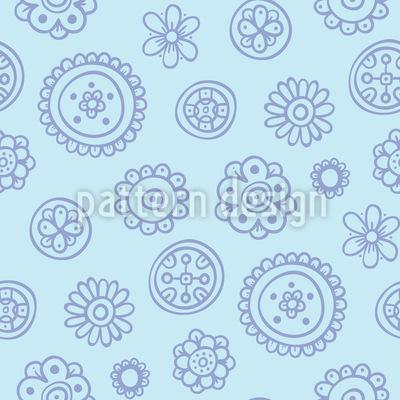 Blumen machen Spass Muster Design