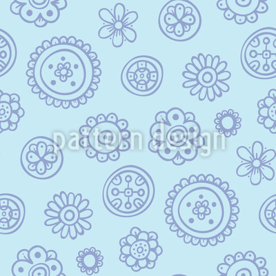 Flowers Are Fun Pattern Design