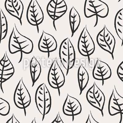 Pinsel-Blätter Rapport