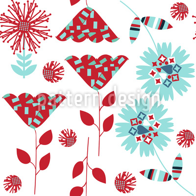 Cute Flowers Vector Design