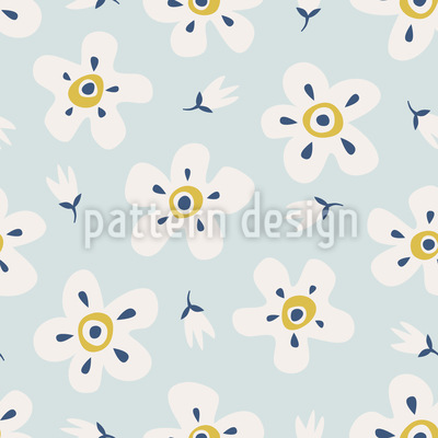 Beautiful Blossoms Pattern Design