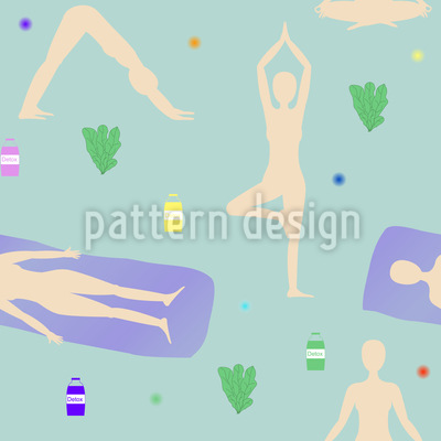 Sonnenaufgang Yoga Rapportmuster
