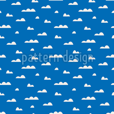 Clouds in the Sky Vector Ornament