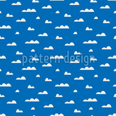 Wolken Am Himmel Vektor Ornament