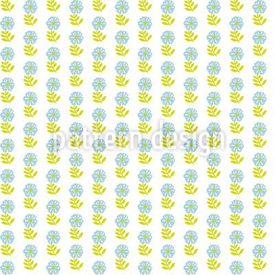 Stempeldruck Blumen Vektor Muster