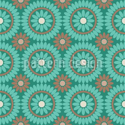 Boho Flowers Design Pattern