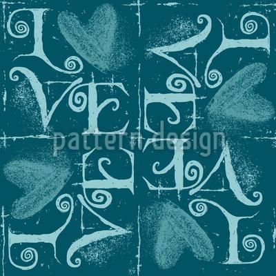 Vintage Typo Design Pattern