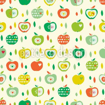 Ich mag Äpfel Rapport
