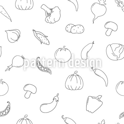 Vegetable Tumble Pattern Design