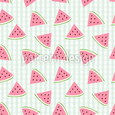 Wassermelonen Scheiben Rapport