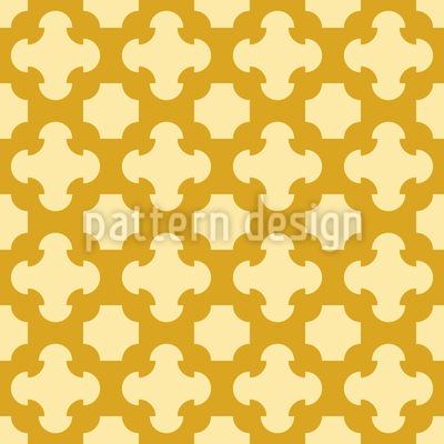 Gotisches Gitter Nahtloses Vektor Muster