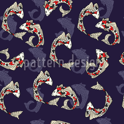 Koi Fish Vector Design
