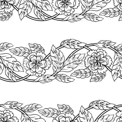 Flower Twists Repeat