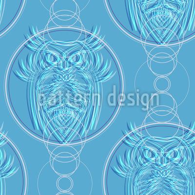 Mystic Owls Pattern Design