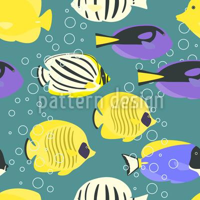 Tropische Fische Designmuster
