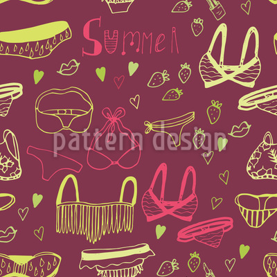 Ready For Summer Repeat Pattern