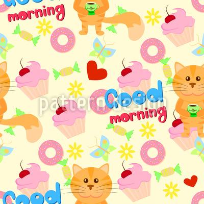 Guten Morgen Musterdesign